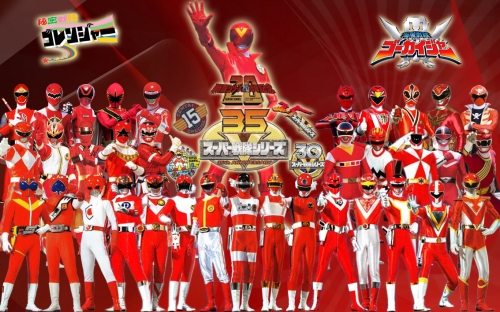 35 Years of the Red Ranger